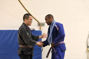 Tye Ryan trained and competed as much as he could as a Blue Belt and it was time to move on.