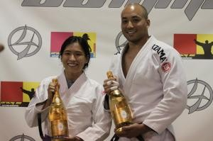 Cathy and Malcolm BJJ Promotions