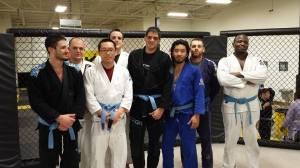 Nathan Chafe blue belt