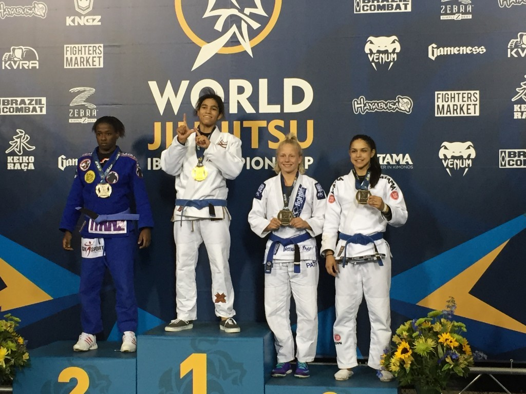 Crazy 88's Vannessa Griffin became the first female JIu-Jitsu World Champion from Baltimore Maryland.