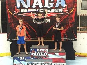 Baltimore Grappler Jackson at NAGA Tournament