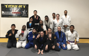Crazy 88 BJJ Class with New Purple Belt - Jeff Mueller