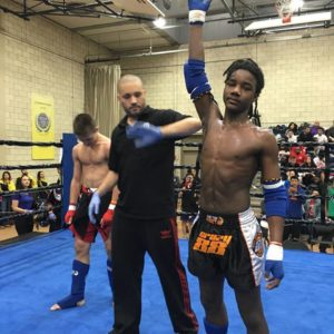Maryland kickboxing fighter Mikey Puiefoy