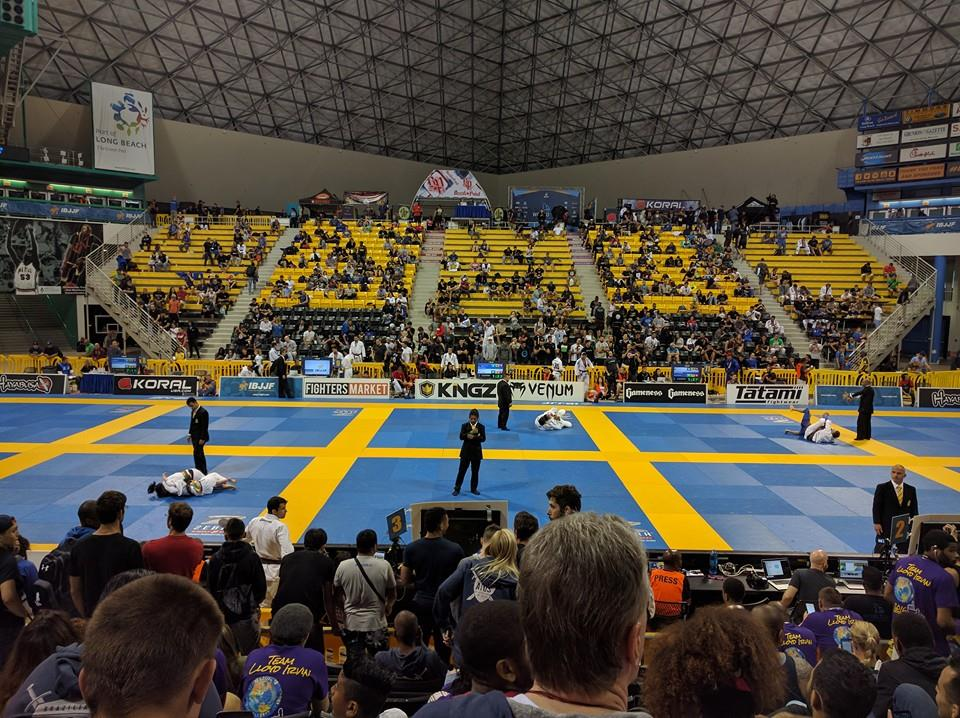Walter Pyramid California hosts World Championships as 7 Crazy 88 competitors compete 2016 IBJJF World Championships