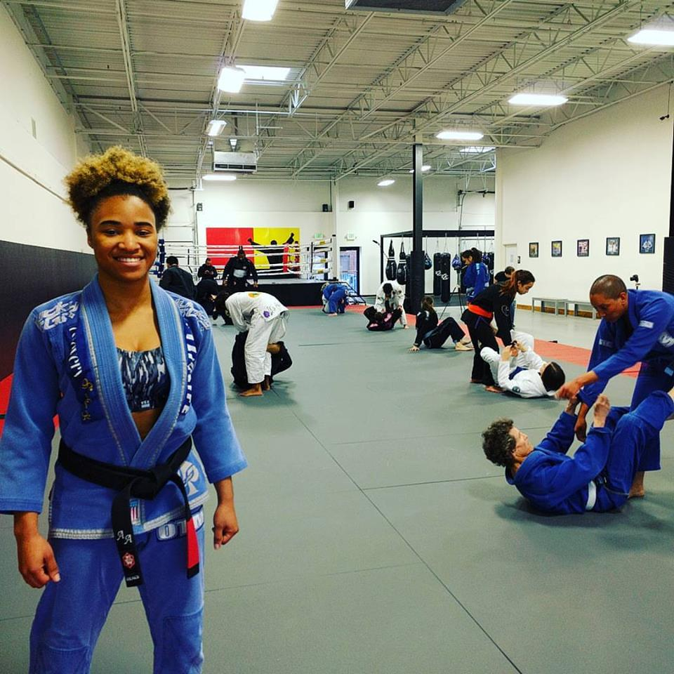 Jiu-Jitsu Black Belt Aarae Alexander at Crazy 88 MMA