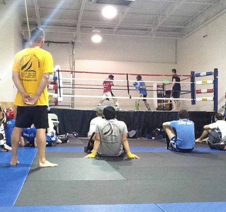 Crazy 88 Muay Thai sparring