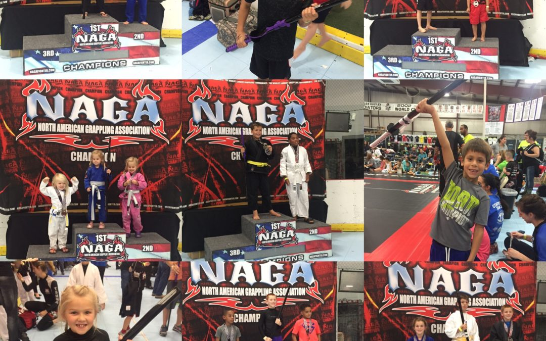 Crazy 88 Kids Score 88% Medal Rate at NAGA Pennsylvania
