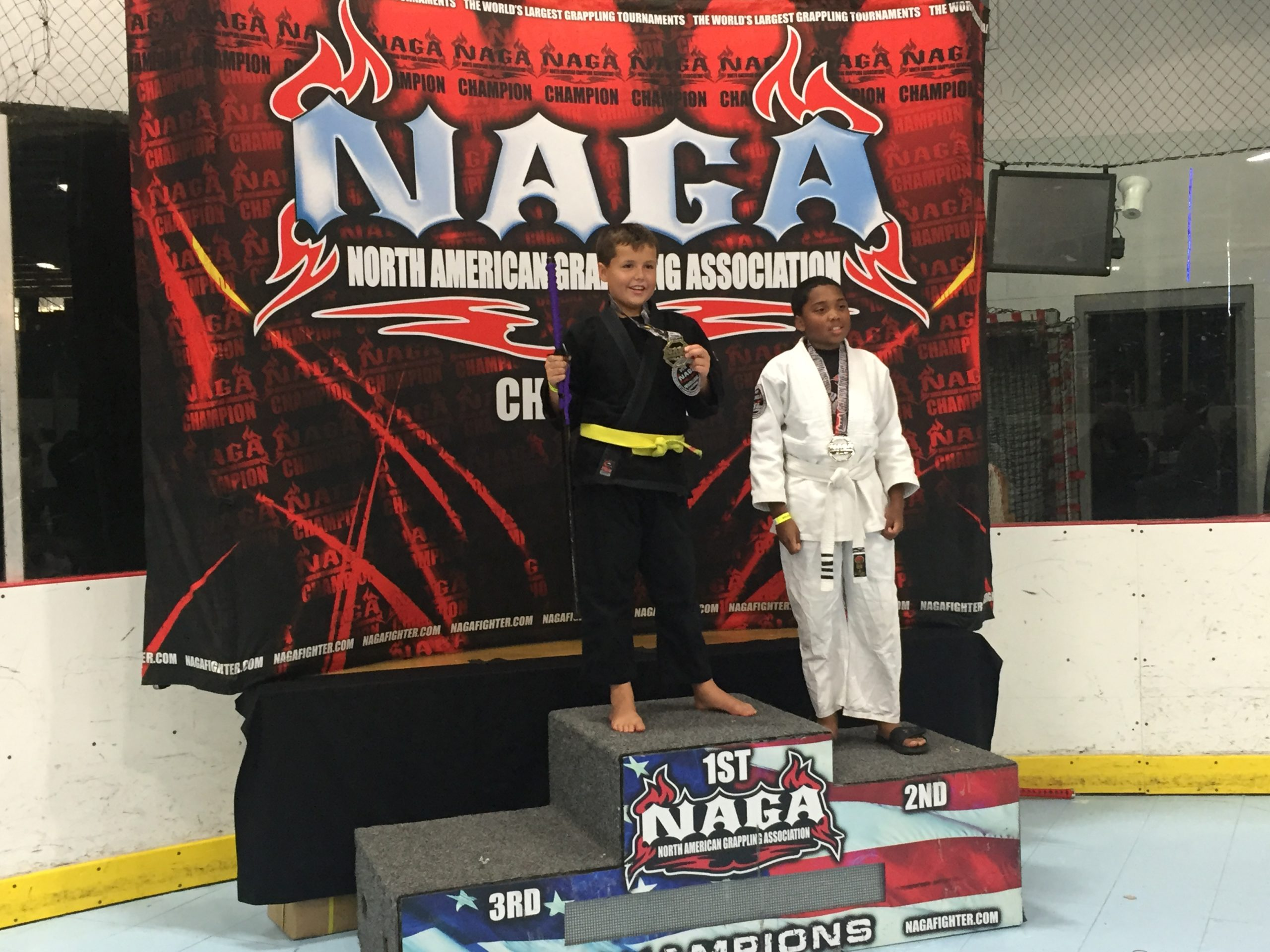 Maryland Grappler Kyle at NAGA Tournament